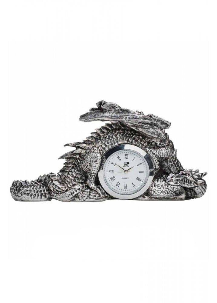 Alchemy Gothic Dragonlore Clock Attitude Clothing