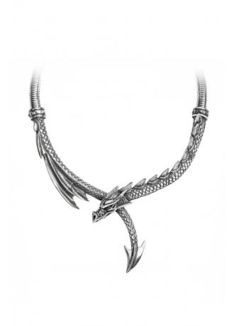 Alchemy Gothic Dragon's Lure Necklace