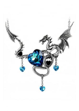 Alchemy Gothic Draig O Gariad Necklace