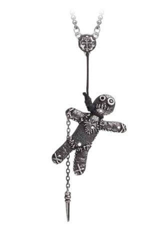 Alchemy Gothic Voodoo Doll Pendant