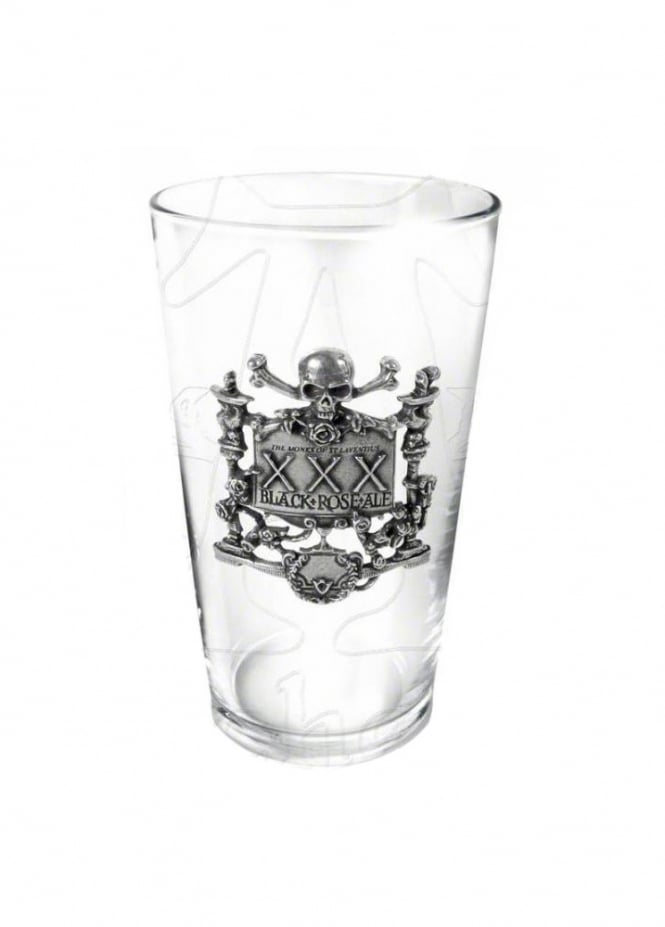 Alchemy Gothic XXX Black Rose Ale Glass
