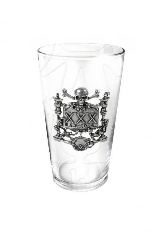Alchemy Gothic XXX Black Rose Ale Glass