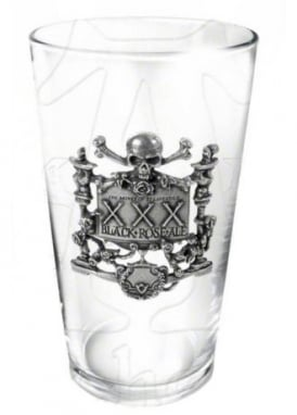 XXX Black Rose Ale Glass