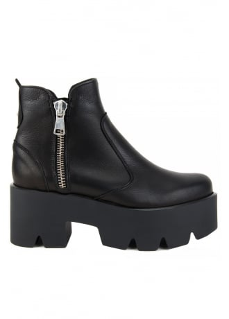 Altercore Doris Leather Platform Boots