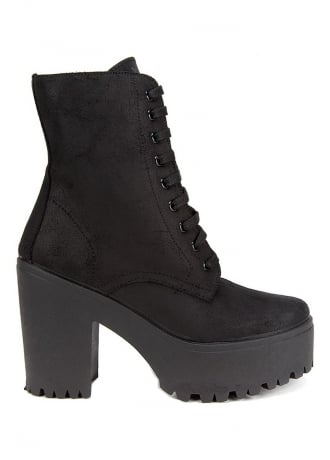 Altercore Jenny Leather Ankle Boots