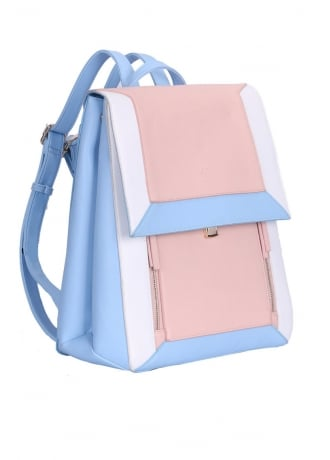 Anna Smith New York Blue Nude Backpack