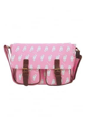 Pink Kitty Satchel