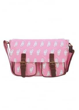 Pink Kitty Satchel
