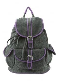 Purple Contrast Backpack