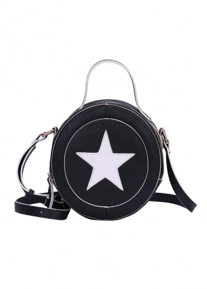 Anna Smith New York Star Round Bag