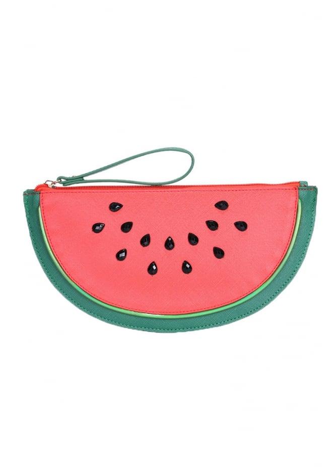 Anna Smith New York Watermelon Clutch Bag