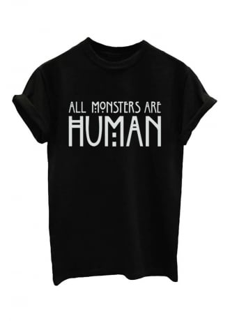 Attitude Clothing All Monsters Are Human T-Shirt