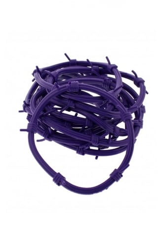 Attitude Clothing Barbwire Gummie Bangles