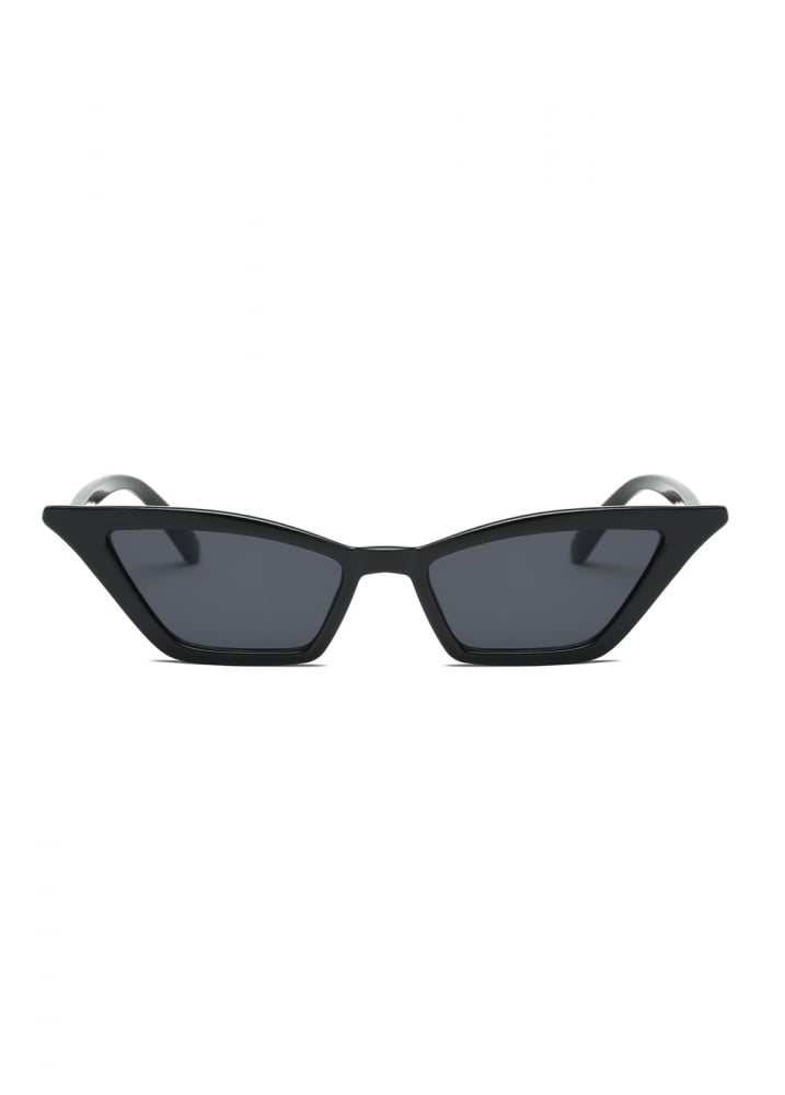 de6dc7dba7bfb Black Cat Eye Sunglasses