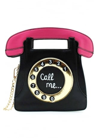 Attitude Clothing Call Me Handbag