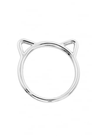 Attitude Clothing Cat Ears Ring
