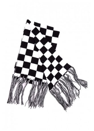Attitude Clothing Checked Scarf