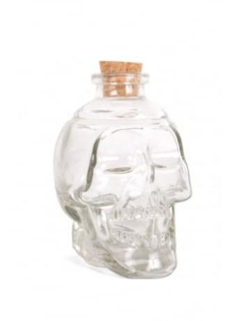Attitude Clothing Clear Skull Jar