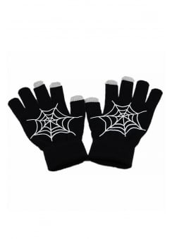 Cobweb Touch Screen Gloves