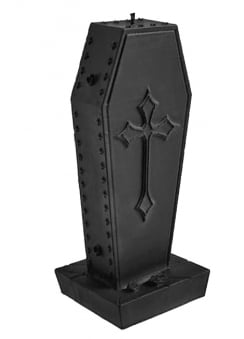 Cross Coffin Candle