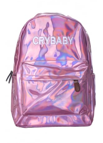 Attitude Clothing Crybaby Holographic Backpack
