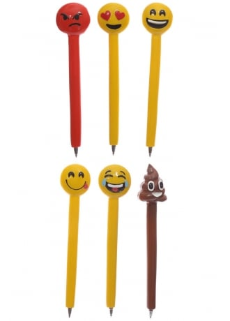 Attitude Clothing Emoji Pen