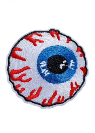 Attitude Clothing Eyeball Iron-On Woven Patch
