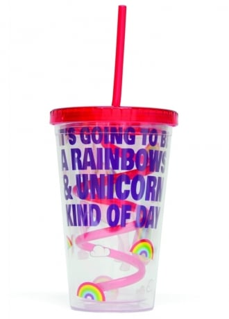 Attitude Clothing Iris The Unicorn Sipper Cup
