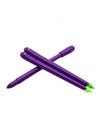 Attitude Clothing Kawaii Aubergine Gel Pen