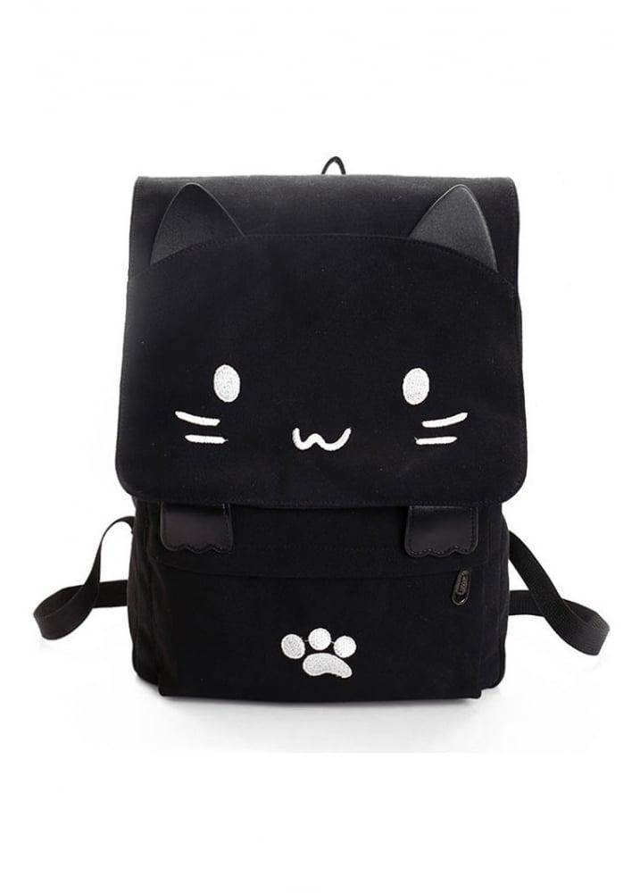 Kawaii Cat Backpack Attitude Clothing