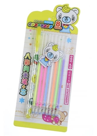 Attitude Clothing Kawaii Gel Pen Set