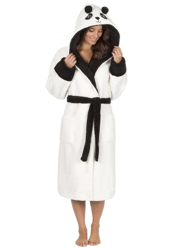 Kawaii Panda Dressing Gown | Attitude Clothing