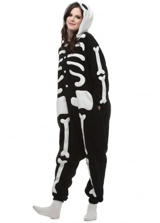 Attitude Clothing Kawaii Skeleton Onesie
