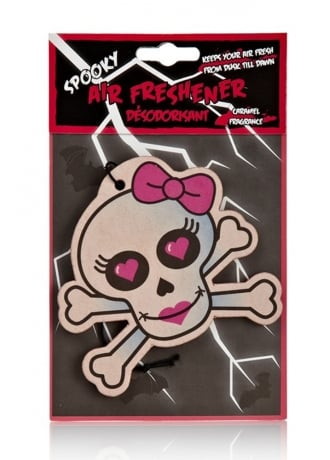 Attitude Clothing Lady Skull Air Freshener