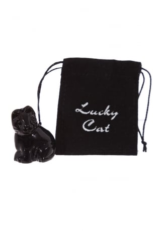 Attitude Clothing Lisa Parker Glass Lucky Black Cat