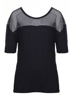 Mesh Plus Size T-Shirt