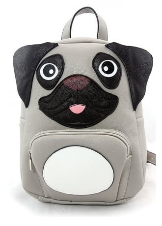 Attitude Clothing Mini Pug Backpack