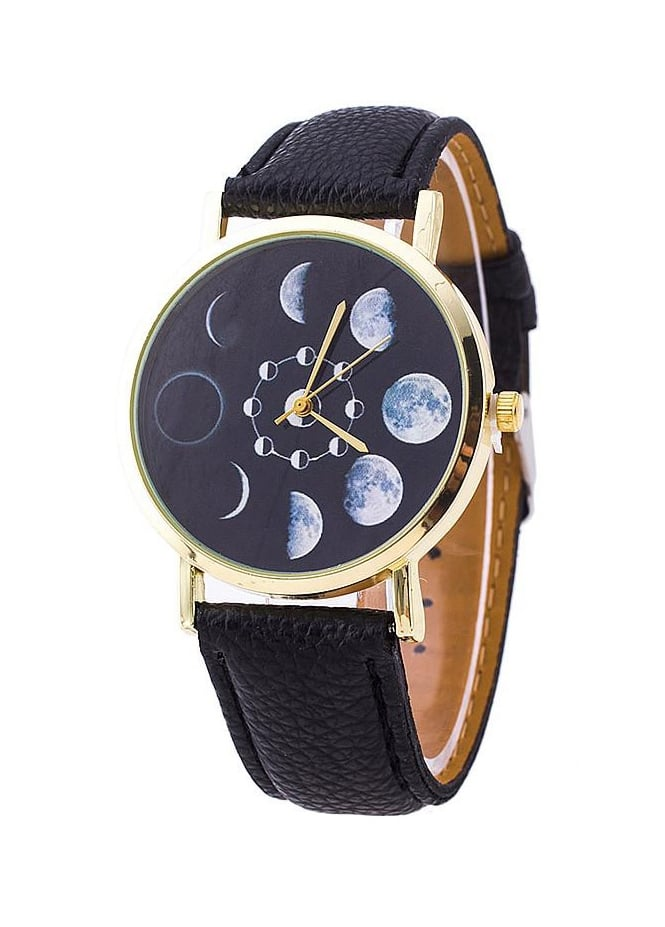 Attitude Clothing Moon Phases Watch