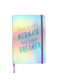 Part Time Mermaid Notebook