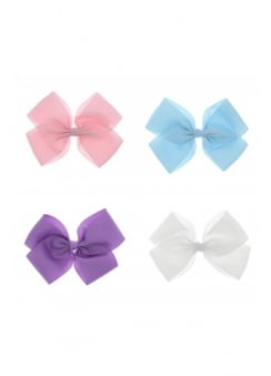 Pastel Ribbon Oversized Hair Bow