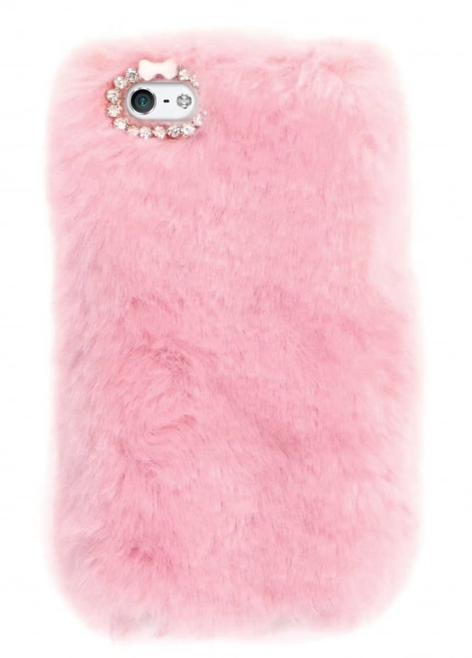 Attitude Clothing Pink Furry iPhone 6/6S/7 Case