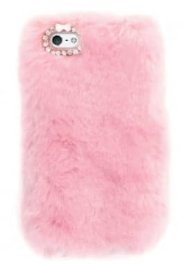 Pink Furry iPhone 6/6S/7 Case