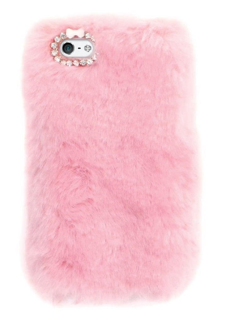 various colors 39fb6 c0c02 Pink Furry iPhone 6/6S Case