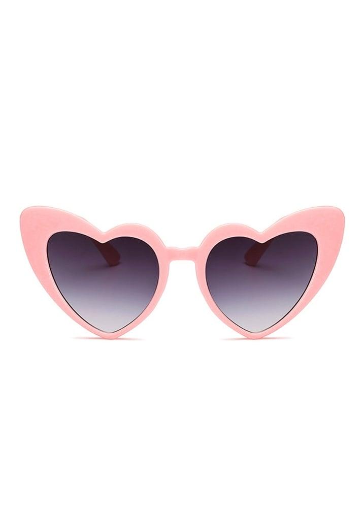 129eda29c90 Attitude Clothing Pink Heart Shape Cat Eye Sunglasses