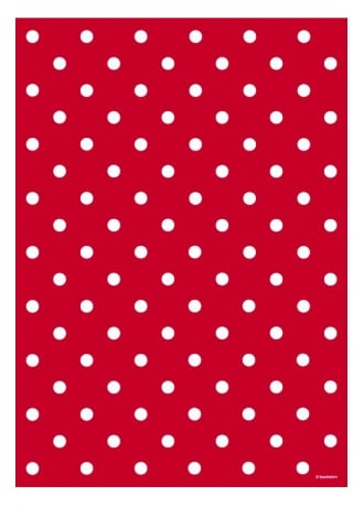 Attitude Clothing Polka Dot Wrapping Paper
