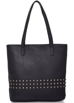 Pyramid Studded Shopper Bag