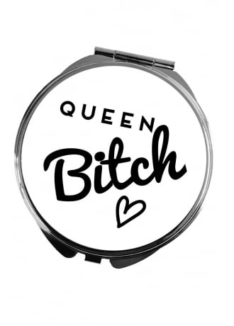 Attitude Clothing Queen Bitch Pocket Mirror