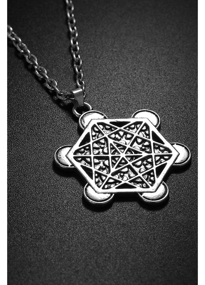 Sacred geometry pendant attitude clothing sacred geometry pendant aloadofball Gallery