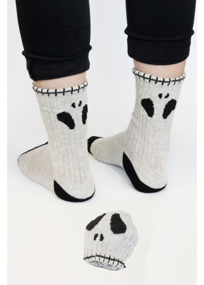 Attitude Clothing Skull Ball Socks