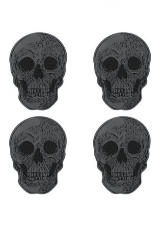 Attitude Clothing Skull Coasters